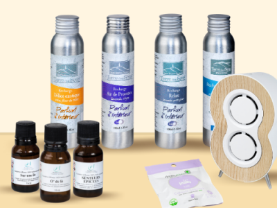 Recharges diffuseurs & sprays d'ambiance